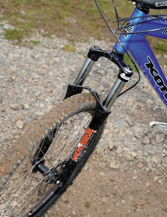 Marzocchi dirt jump fork takes no prisoners