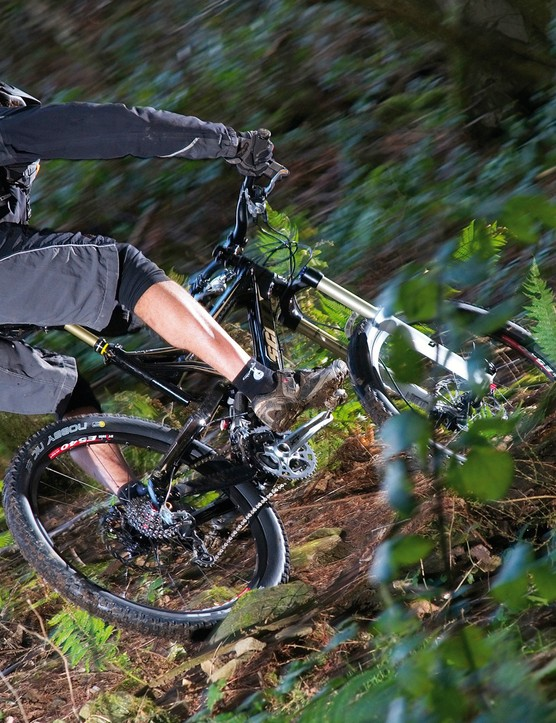 Scott Ransom 10 blasts through singletrack - and anything else in its way
