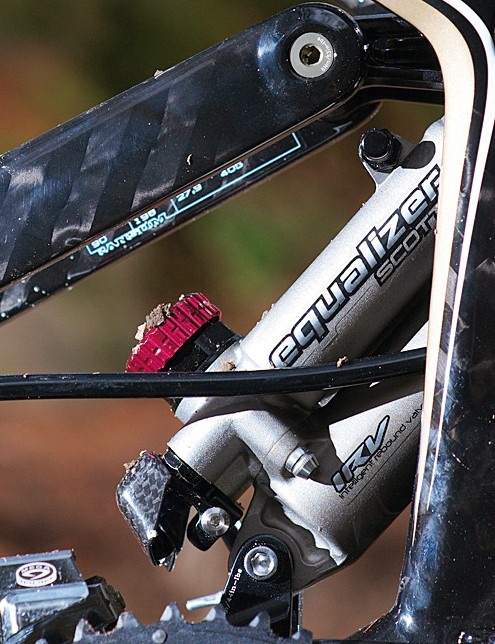 Scott's custom shock has lots of tweakability, but delivers in spades when you have it set up.
