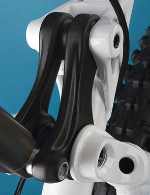 Super-rigid new linkages and bearings keep everthing tightly coupled