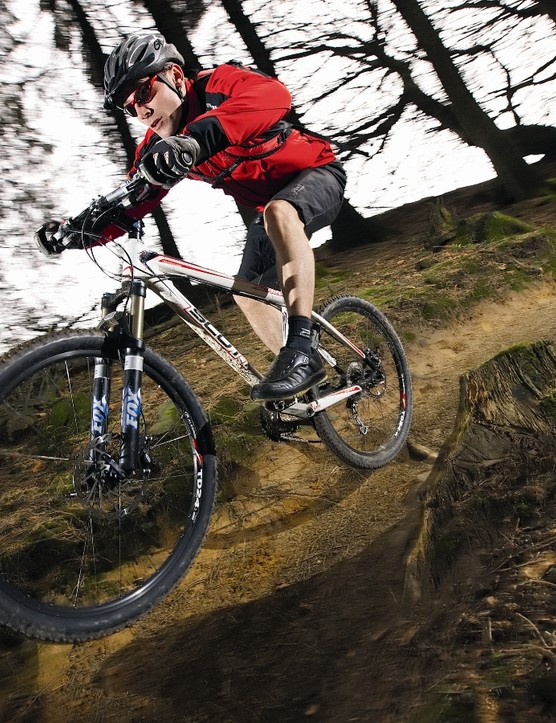 Ride is impressively  fluid for a bike that looks like an out-and-out racer