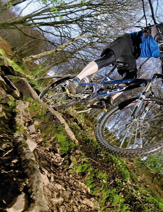 Force will take a real hammering on the descents, but it also tackles uphills impressively well