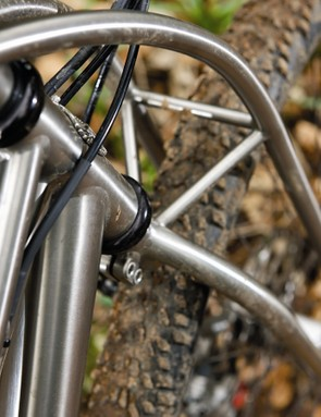 The Truss fork totally prevents unwanted flutter