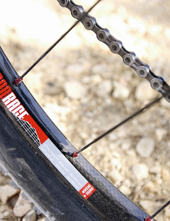 Merida has opted for the most expensive carbon MTB rims on the planet