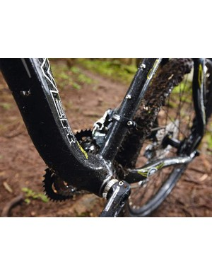 The look of the potbellied down tube and swoopy head tube divide opinion