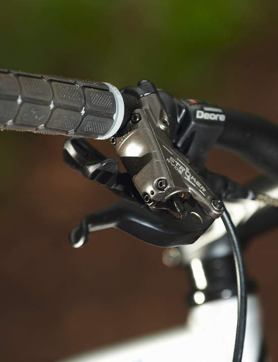 Stroker Ryde brakes are powerful, but watch out for short lever pull