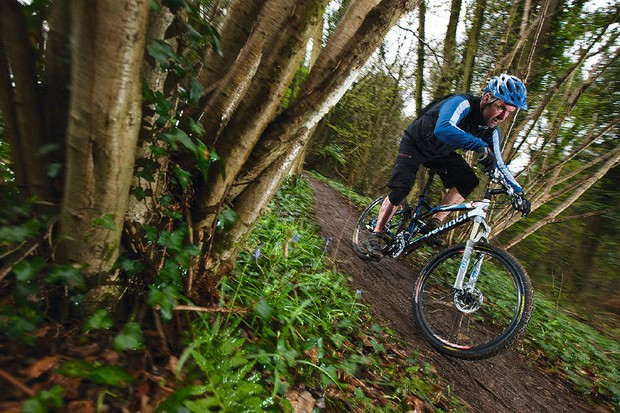 Spot-on geometry works well on both descents and climb