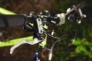 Tough XT brakes to cope with tough riding