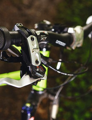 Tough XT brakes to cope with tough riding