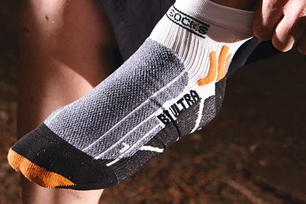 A high-tech sock that fights sweaty feet