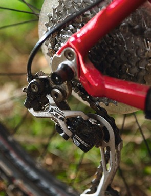 Decent kit includes XT rear mech and complete Bontrager finishing kit