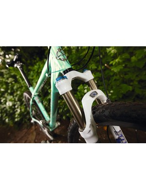 Fox F100RL fork suits the Big Sur frame perfectly