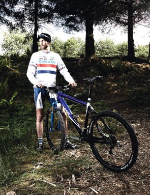 Oli will be riding his new Giant XTC