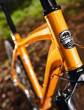 The Marin Juniper Trail's frame features plenty of hydroforming.