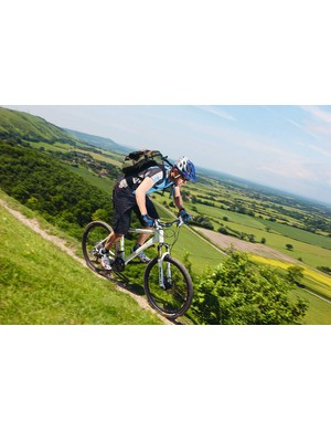 Low weight and ride position encourage you to get out and play on the trails