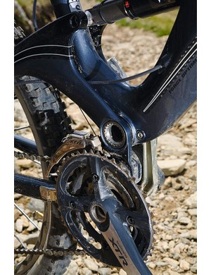 Gear, cranks and brakes are all Shimano XTR