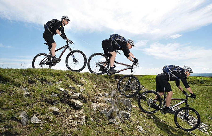Over steep, rough terrain, you really need to get your body moving correctly