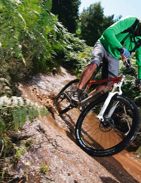 Giant's Anthem X1 offers great cross-country performance
