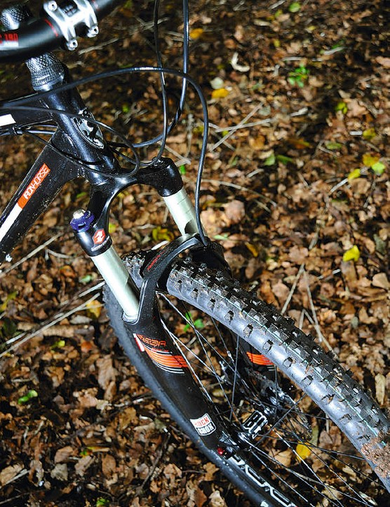 …and RockShox bouncers front and rear