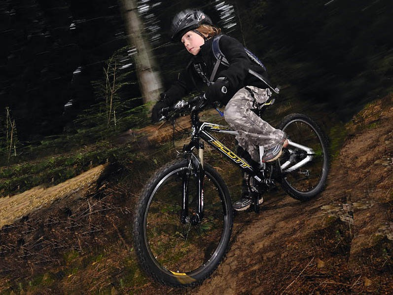 The Scale RC JR is a bike bred for cross country racing...