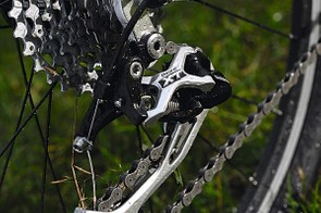The XT rear mech is great for getting down serious power
