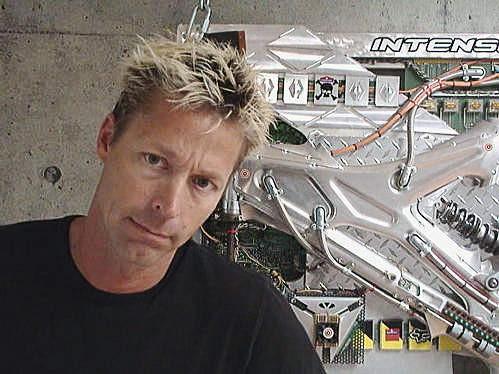 Intense owner and frame designer Jeff Steber