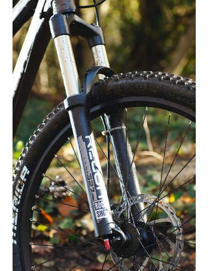 RockShox's Recon Air is plush but lacks a lockout