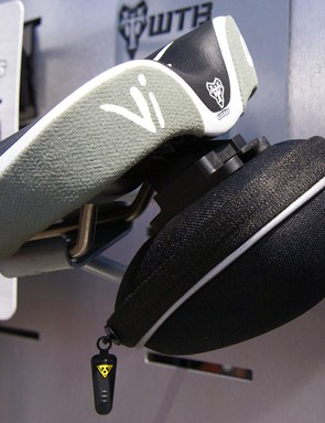 WTB is also working with Topeak to offer a range of integrated saddle packs.