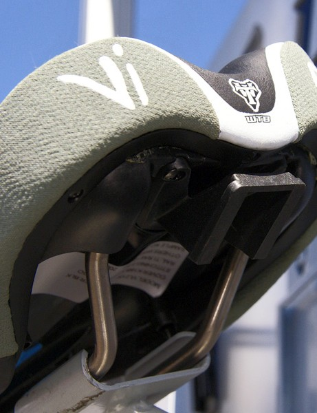 WTB's new Vigo (and others) will come with the saddle pack mount built-in and it's also removable if you don't want it.