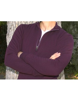 Wabi Woolens' long-sleeved wool jerseyis made from 100 percent Merino wool.