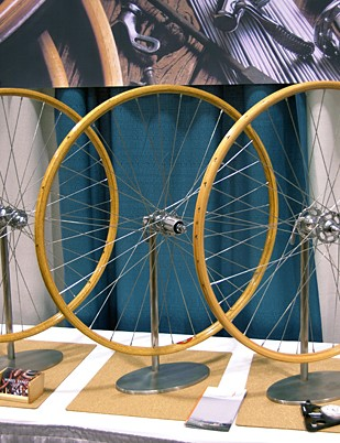 Ric Hjertberg of FSA also has a side project involving wooden rims
