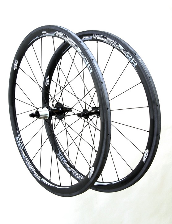 Williams Cycling hits another one out of the park with its carbon-rimmed Wheel System 38.