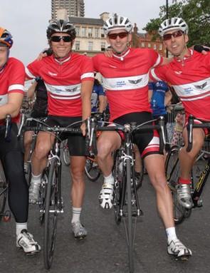 Winners of Corporate Race at start