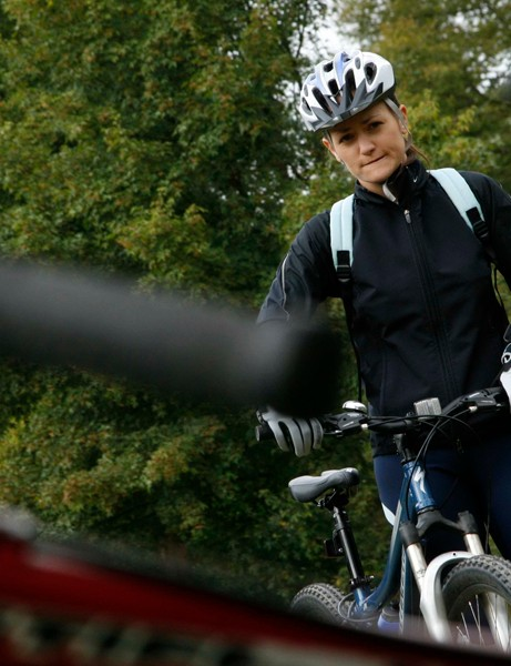 last female only biking session in Hamsterley Forest last September