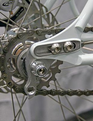For disc brake singlespeeds and Rohloff-fitted bikes, sliding dropouts are easy to live with