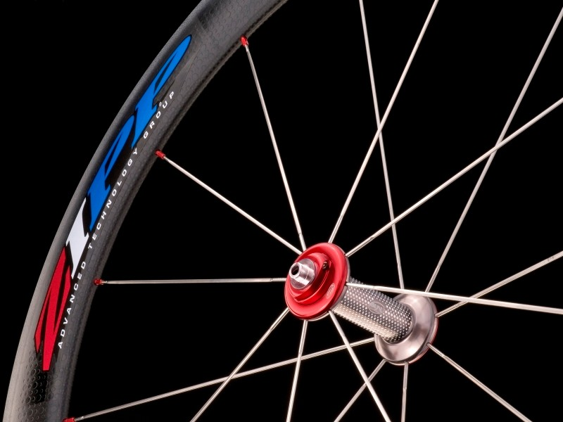Zipp's ZEDTECH customers can create custom decals for their custom wheels