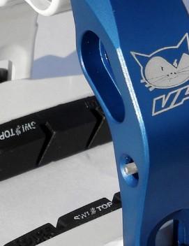 The limited edition Vanderkitten Zero G brake calipers...