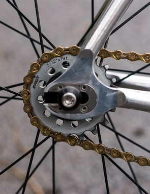 A 19-tooth rear cog for the National Championships