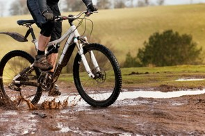 A fistful of brown gloop in the face isn't going to help anyone's riding performance