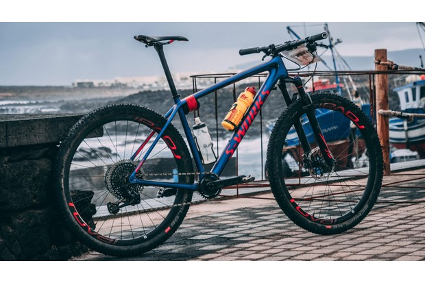 The Specialized S-Works Epic is a very high-end XC machine