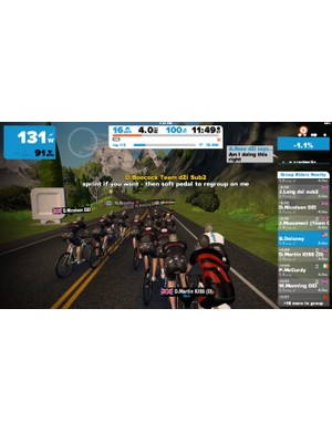 Modern cycling apps make remote social riding a reality