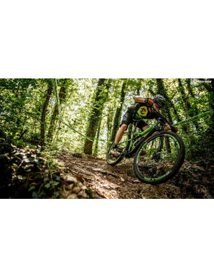 The ENVE wheelset is supremely stiff