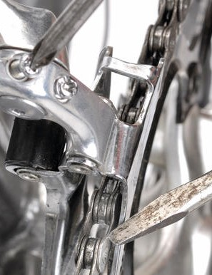 1 Chain comes off or won't go onto big chainring
