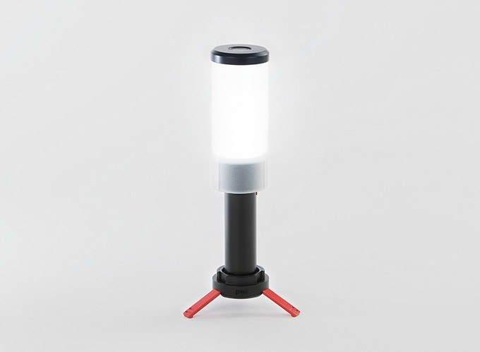 The PWR Lantern — water-resistant and such cute little feet