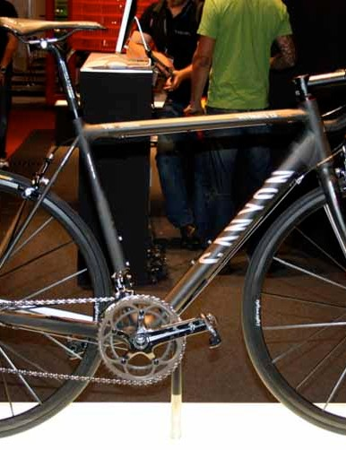 The new Canyon Ultimate CF SLX	will be the team bike for Silence-Lotto in 2009.
