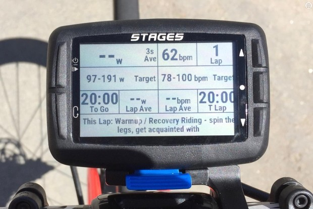 The Stages Dash brings power-based interval training to the handlebars with a new level of customization