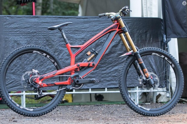 Aaron Gwin's new YT Tues CF is not a well known bike – but this is certainly the fastest up and coming brand in gravity mountain biking right now