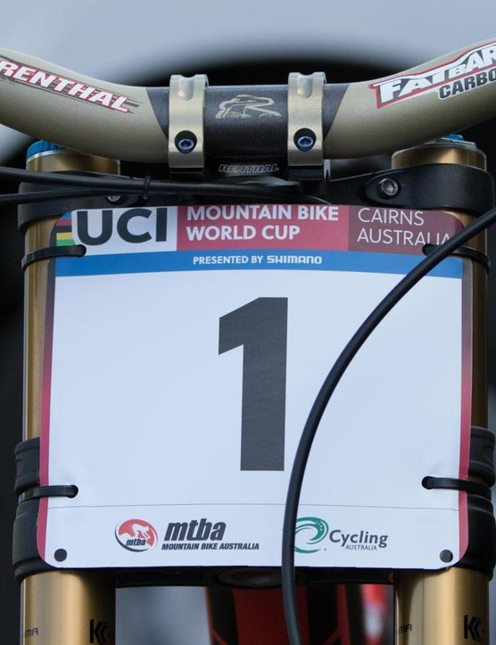 After two rounds, Gwin leads the World Cup series