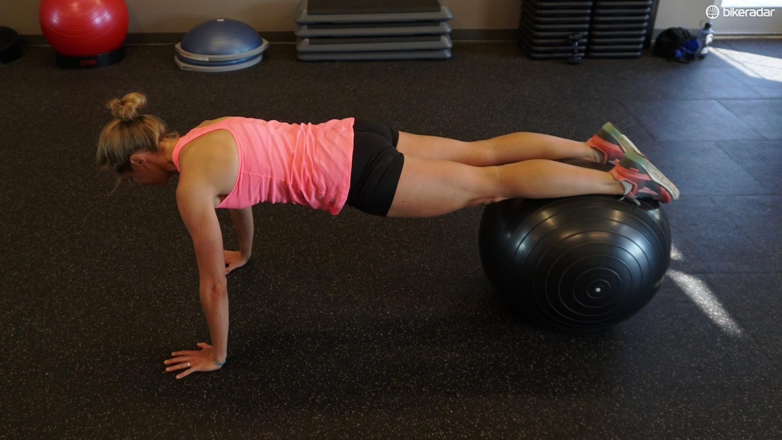The prone walkout can be challenging when single-arm and single-leg variations are part of your workout