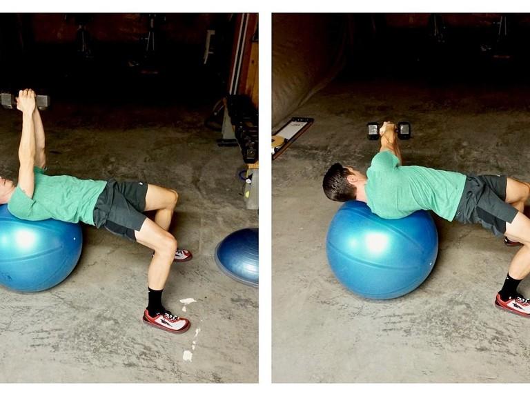 Three abdominal exercises to improve endurance cycling